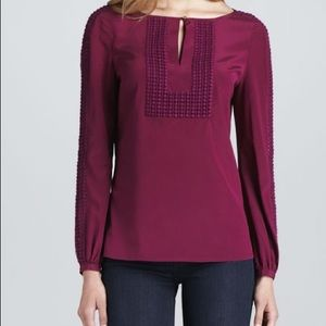 Tory Burch Tops - Tory Burch | Women's Lillian Blouse Size 8